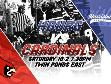 Penn State Harrisburg Ice Hockey Game Day 10/2/21