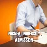 Purnia University Admission