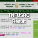 TNFUSRC Result 2019