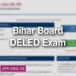 BSEB Bihar Board DELED Admit Card