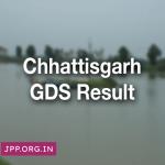 Chhattisgarh GDS Result