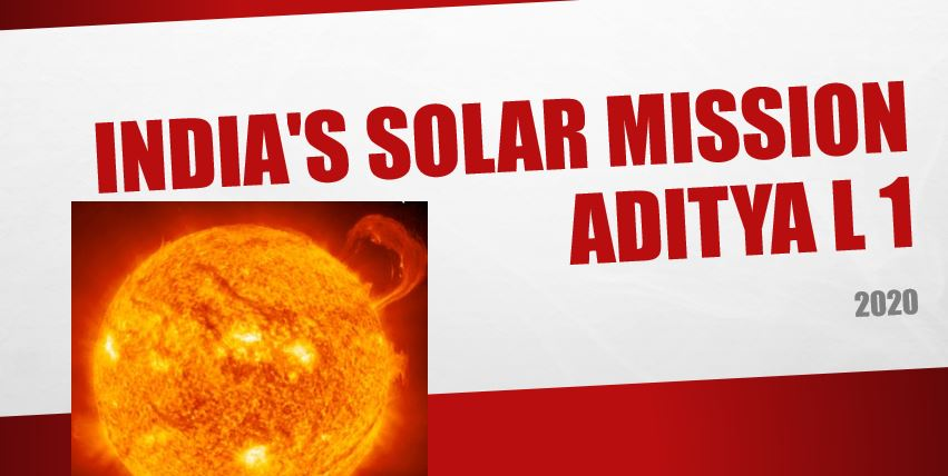 First Solar mission of india in 2020