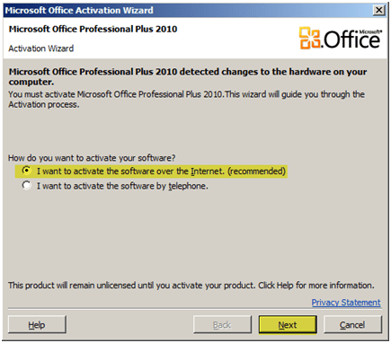 Ms how to change an office 2010 product key johnhowto - Office professional plus 2010 key ...