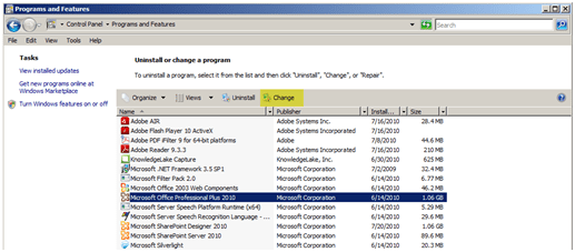Ms how to change an office 2010 product key johnhowto - How to change ms office 2010 product key ...