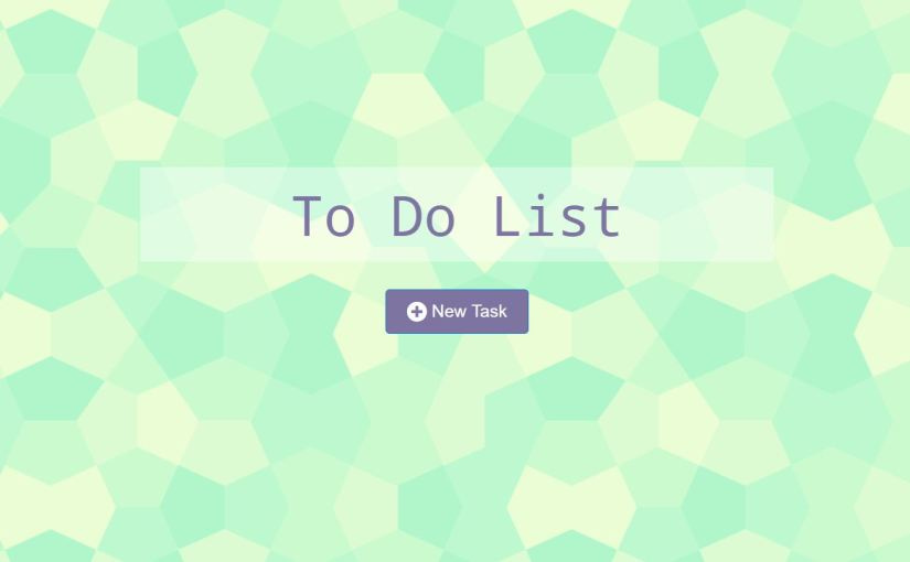 ToDo List Project