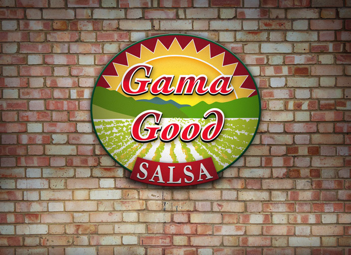 Gama Good Salsa Logo Design