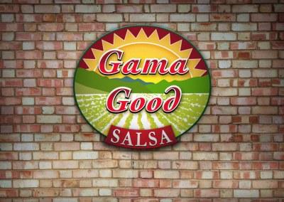 Gama Good Salsa Logo Design