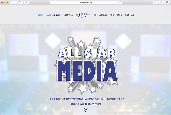 Web Design and Development for allstartapes.com