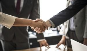 Meeting. Handshake