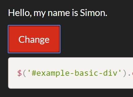 Dynamically Change Element Type With jQuery ...