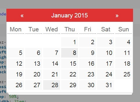 Fully Configurable jQuery Date Picker Plugin For Bootstrap ...