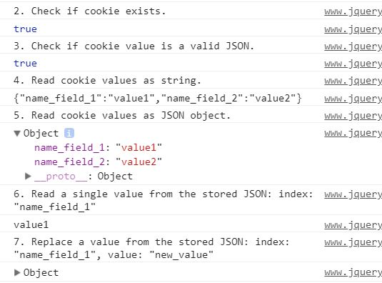 Store/Retrieve/Verify/Replace/Remove JSON In Cookies ...
