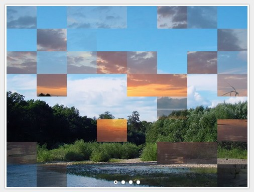 Minimal jQuery Based Slideshow with Slice Effects ...