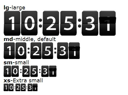 Vintage Flip Clock Style Countdown & Timer Plugin For ...