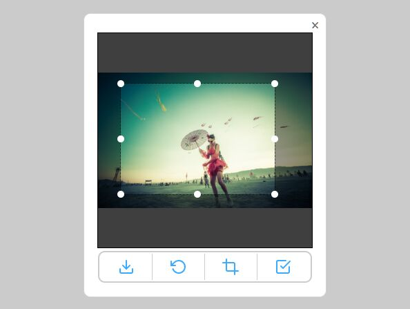 ResizeRotateCrop Images With jQuery Cropzee Free