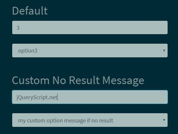 jQuery Plugin For Filterable Bootstrap Dropdown Select ...