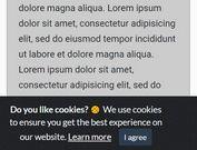 jQuery Plugin For Customizable EU Cookie Law Notice ...