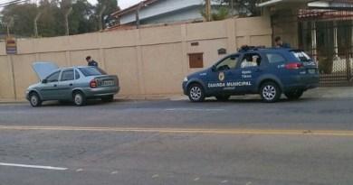 Guarda localiza carro roubado