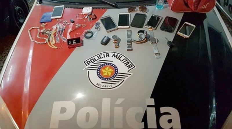 PM prende ladrões de residência em Jundiaí
