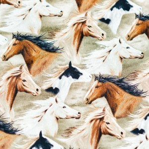 Personalized Horses Weighted Blanket