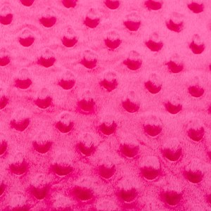Personalized Minky Hot Pink Weighted Blanket