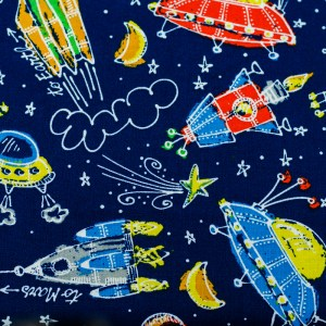 Personalized Rockets Weighted Blanket