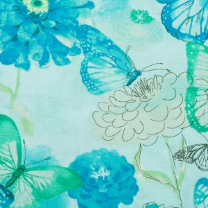 Personalized Watercolor Butterfly Weighted Blanket