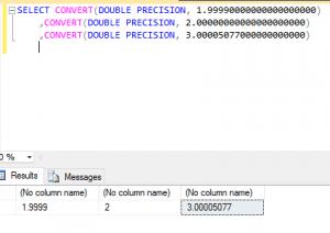 SQL Reduce Number of Decimal Places