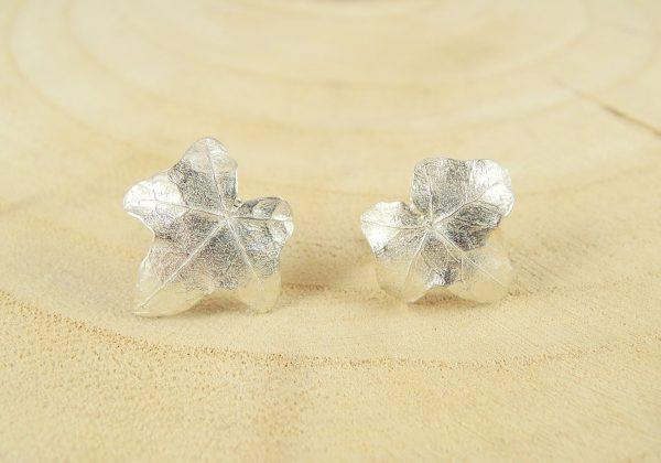 petites boucles d'oreilles eve en argent 925