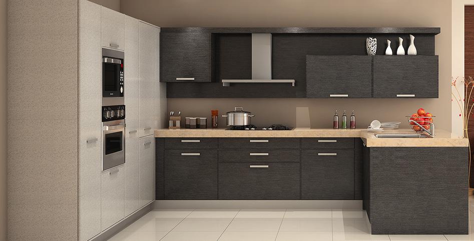 L Shaped Kitchen Design India