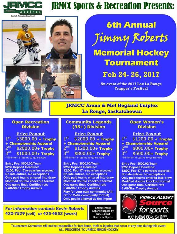 2017 JRM Hockey Tournament