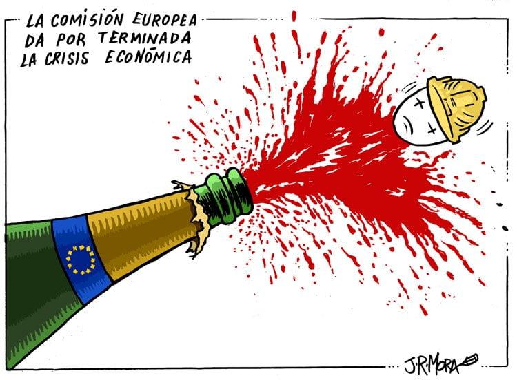 La Comisión Europea da por terminada la crisis económica