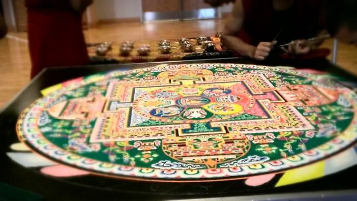 Tibetan Sand Mandela 2014 ©JRobin Whitley