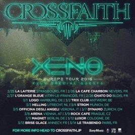 crossfaith eu tour 2016