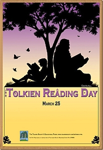 Locandina del Tolkien Reading Day
