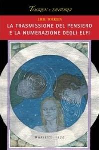 """Copertina del libro di Tolkien """"La trasmissione del pensiero degli elfi"""""""