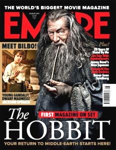 Copertina della rivista Empire