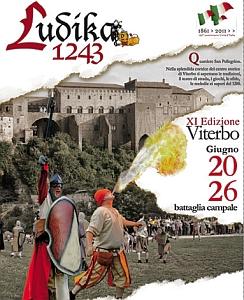 Manifesto Ludika 1243 - XI edizione