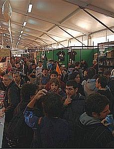 Gli stand a Lucca Comics and Games
