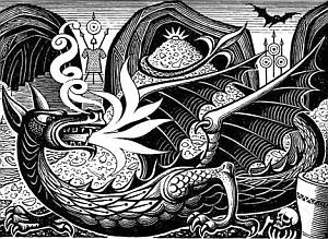 Illustrazioni della Regina Margherita II di Danimarca: Smaug