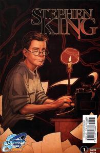 Copertina della biografia a fumetti di Stephen King