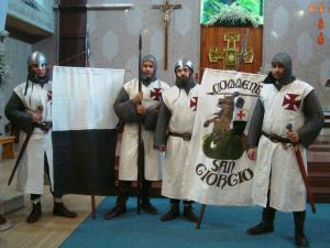 gruppo di rievocazione medievale: i Templari