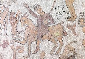 Particolare del pavimento a mosaico della cattedrale di Otranto (1165)