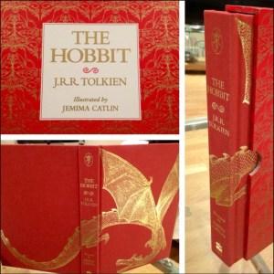 Lo Hobbit illustrato da Jemima Catlin