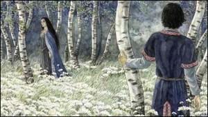 """Anke Eissmann: """"Aragorn e Arwen"""""""