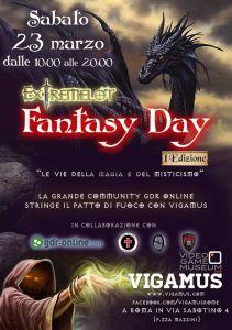 """Eventi: """"Fantasy Day 1"""""""