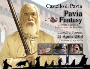 Locandina Pavia Fantasy