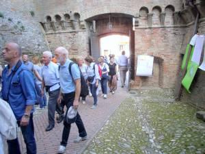 Dozza: entrata alla Rocca