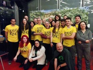 Staff Tolkien Day 2017