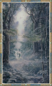 Quarta di copertina Beren e Luthien Bompiani